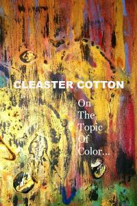 CLEASTER COTTON On The Topic Of Color